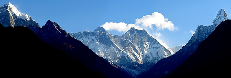 Everest, Lothse, Ama Dablam